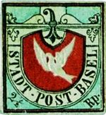 Basel Dove Rare Stamp