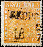 Treskilling Yellow Valuable Stamp